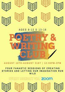 Poetry & Writing Club @ Online